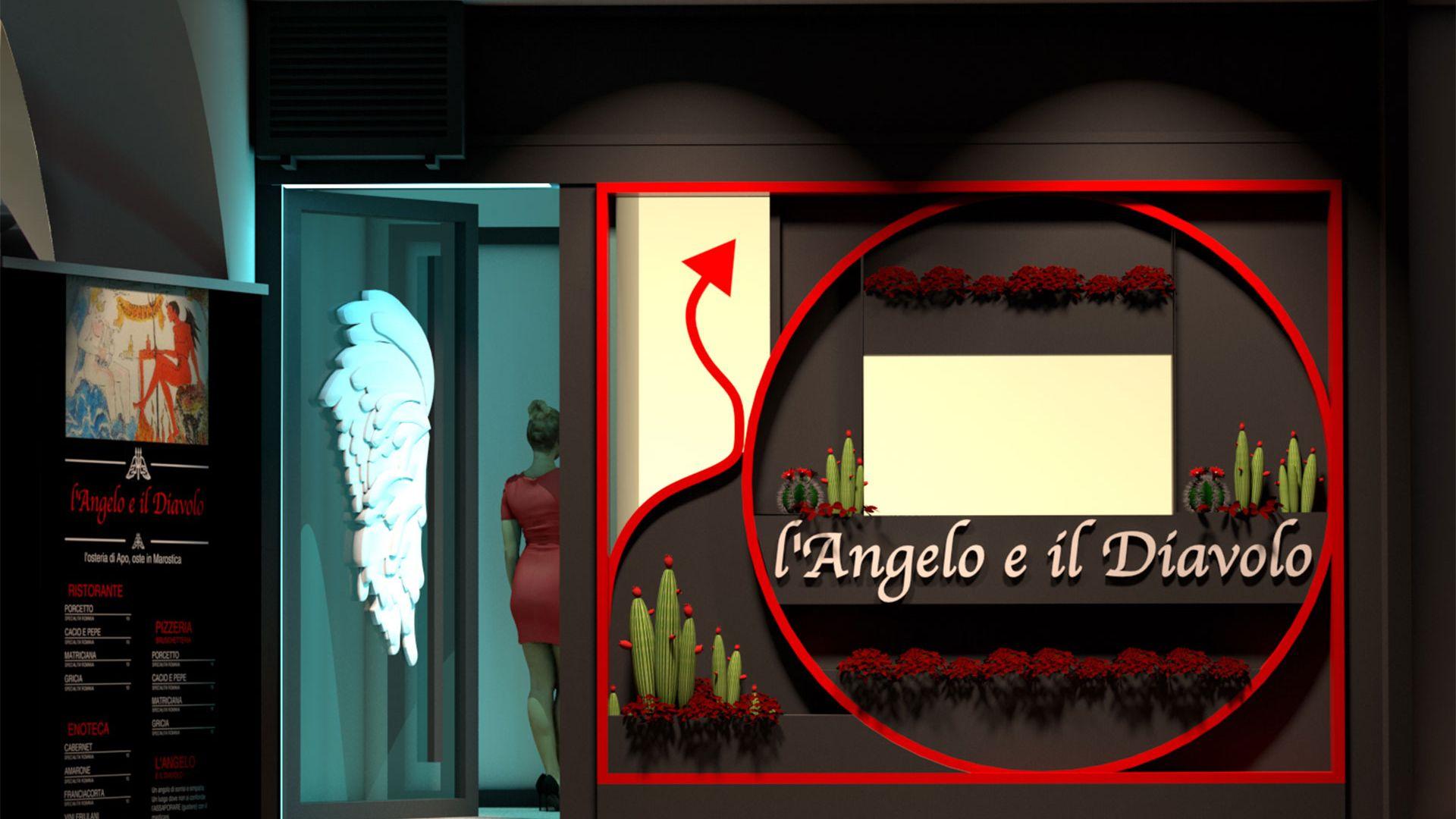 L'Angelo e il Diavolo shop entrance