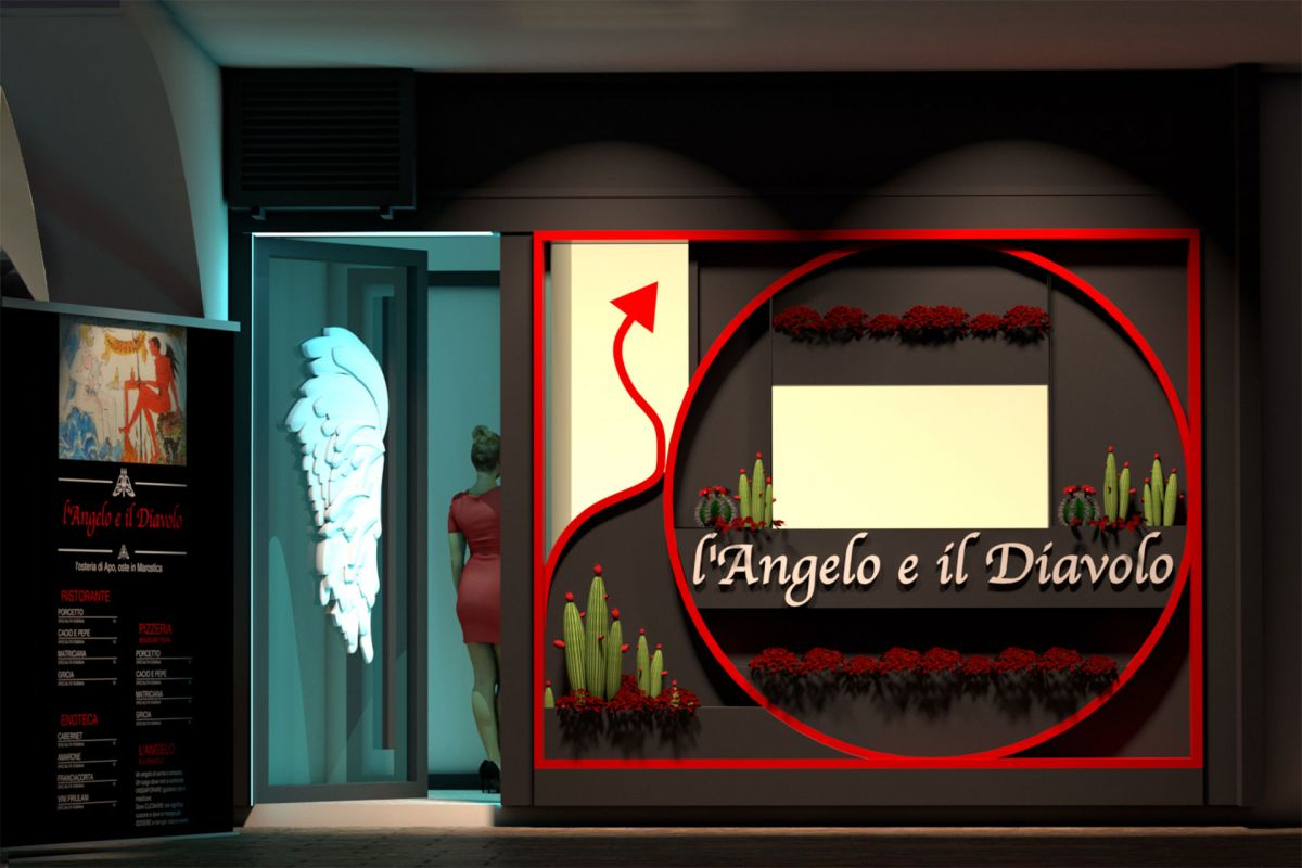 L'Angelo e il Diavolo shop entrance